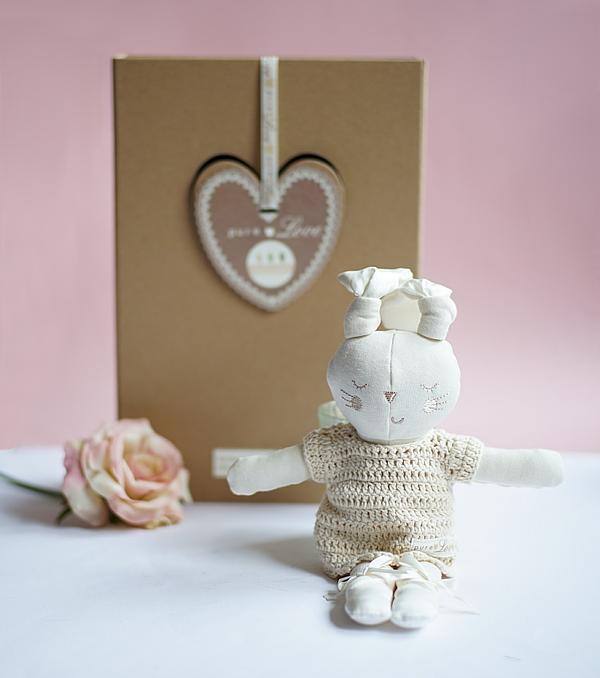 Pure Love Mädchen Häschen Geschenk Set