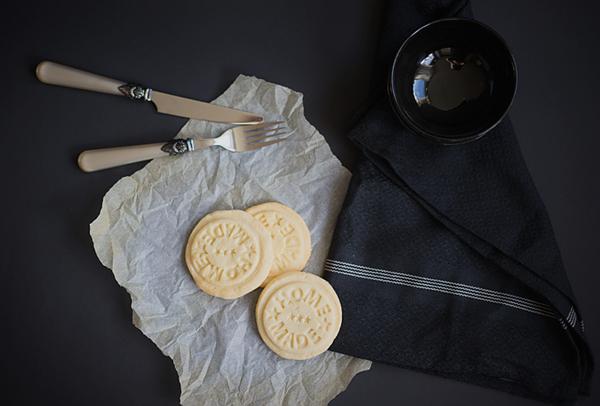 Gestempelte Kekse