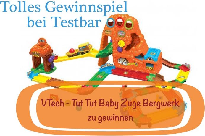 Gewinnspiel U2013 VTech Tut Tut Baby Züge Bergwerk Zu Gewinnen