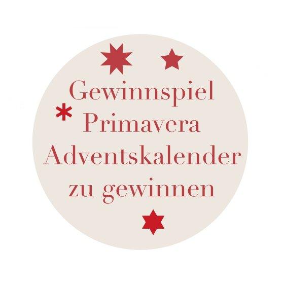 Gewinnspiel – Primavera Adventskalender 2017 zu gewinnen