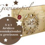 Gewinnspiel – 5 x 1 Limitierter Adventskalender von Artdeco zu gewinnen