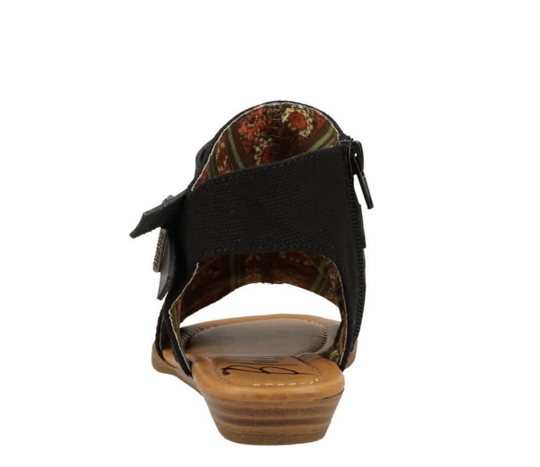 Die Stylische Sandale Balla4Earth von Blowfish Malibu mit Obermaterial aus recyceltem PET