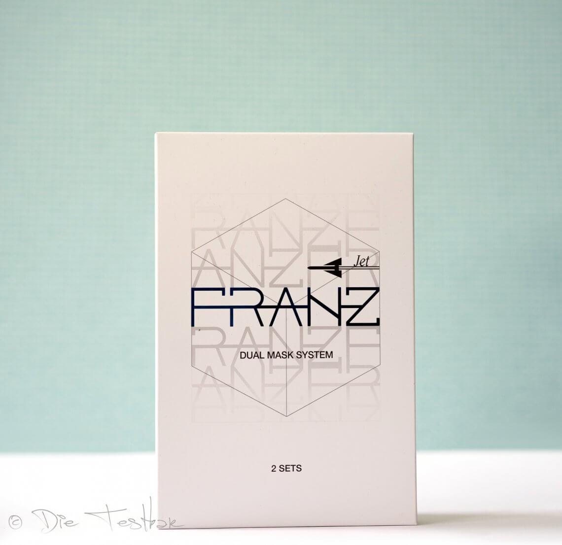 FRANZ Dual Mask System - Die weltweit erste Mikrostrom-Gesichtsmaske für Zuhause