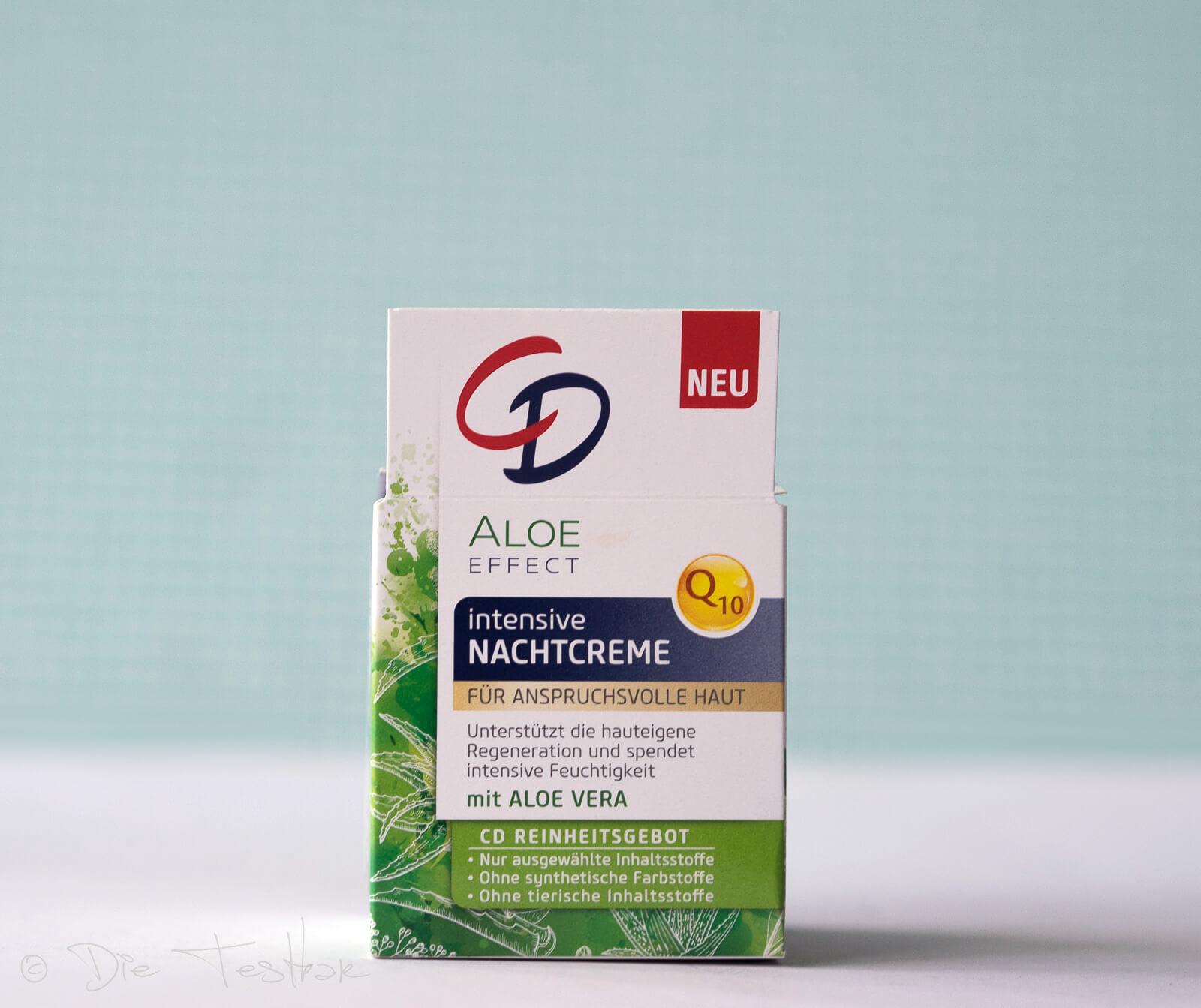 CD - Aloe Effect Nachtcreme