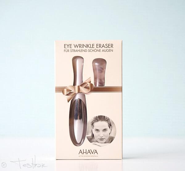 AHAVA Eye Wrinkle Eraser - Massagegerät zur Vibrationsmassage der Augenpartie