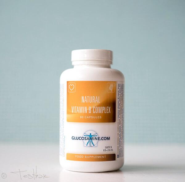 Natural Vitamin B Complex - Natürliches Vitamin B vonGlucosamine.com