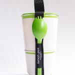 Lunchen mit design3000.de – Lunch Box und Dessertlöffel