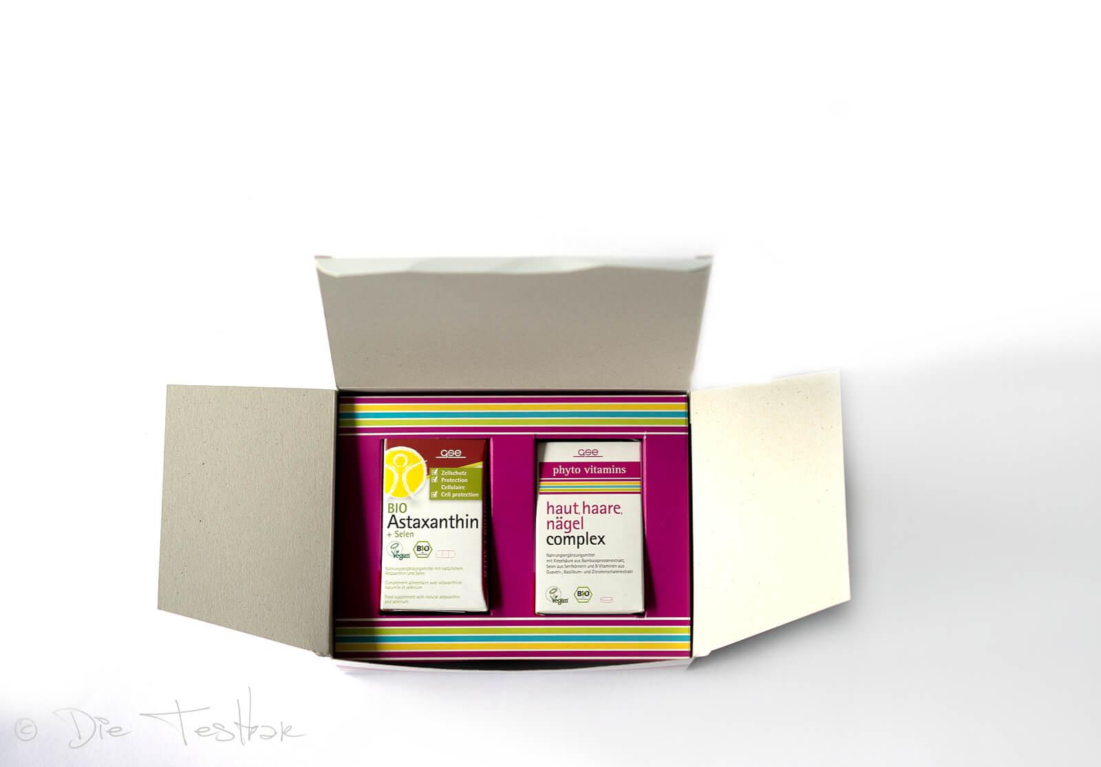 GSE verwendet für das Produkt Haut, Haare, Nägel Complex natürliche Kieselsäure aus Bambussprossenextrakt.