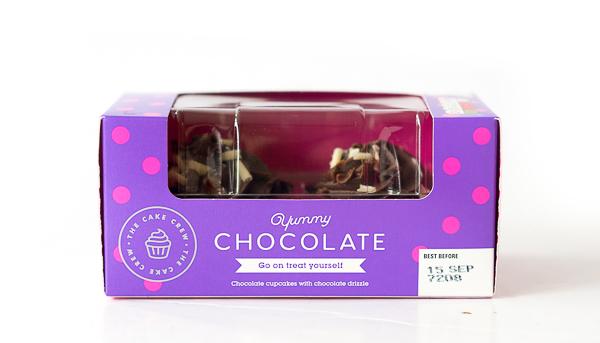 THE CAKE CREW -Chocolate Cupcake