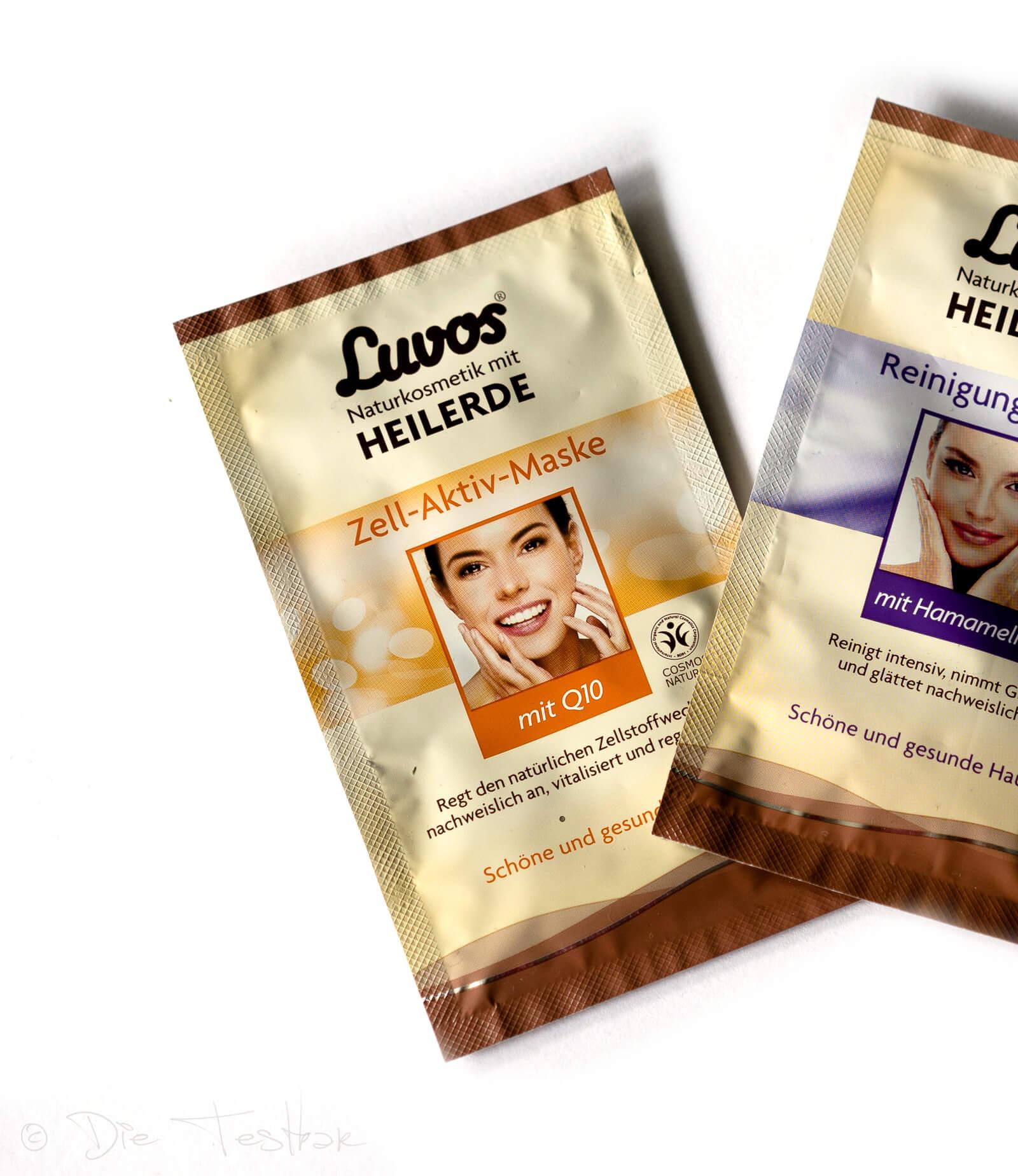 Luvos Zell-Aktiv-Maske mit Q10