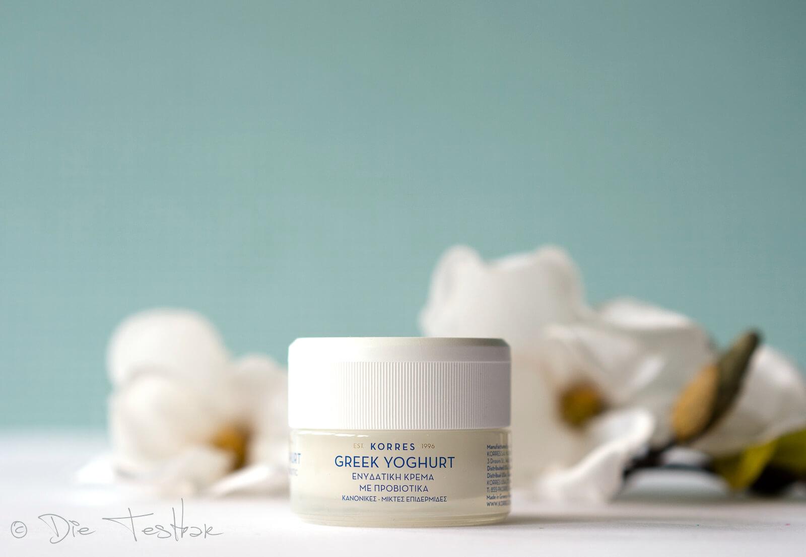 Greek Yoghurt Beruhigende nährende probiotische Feuchtigkeitscreme