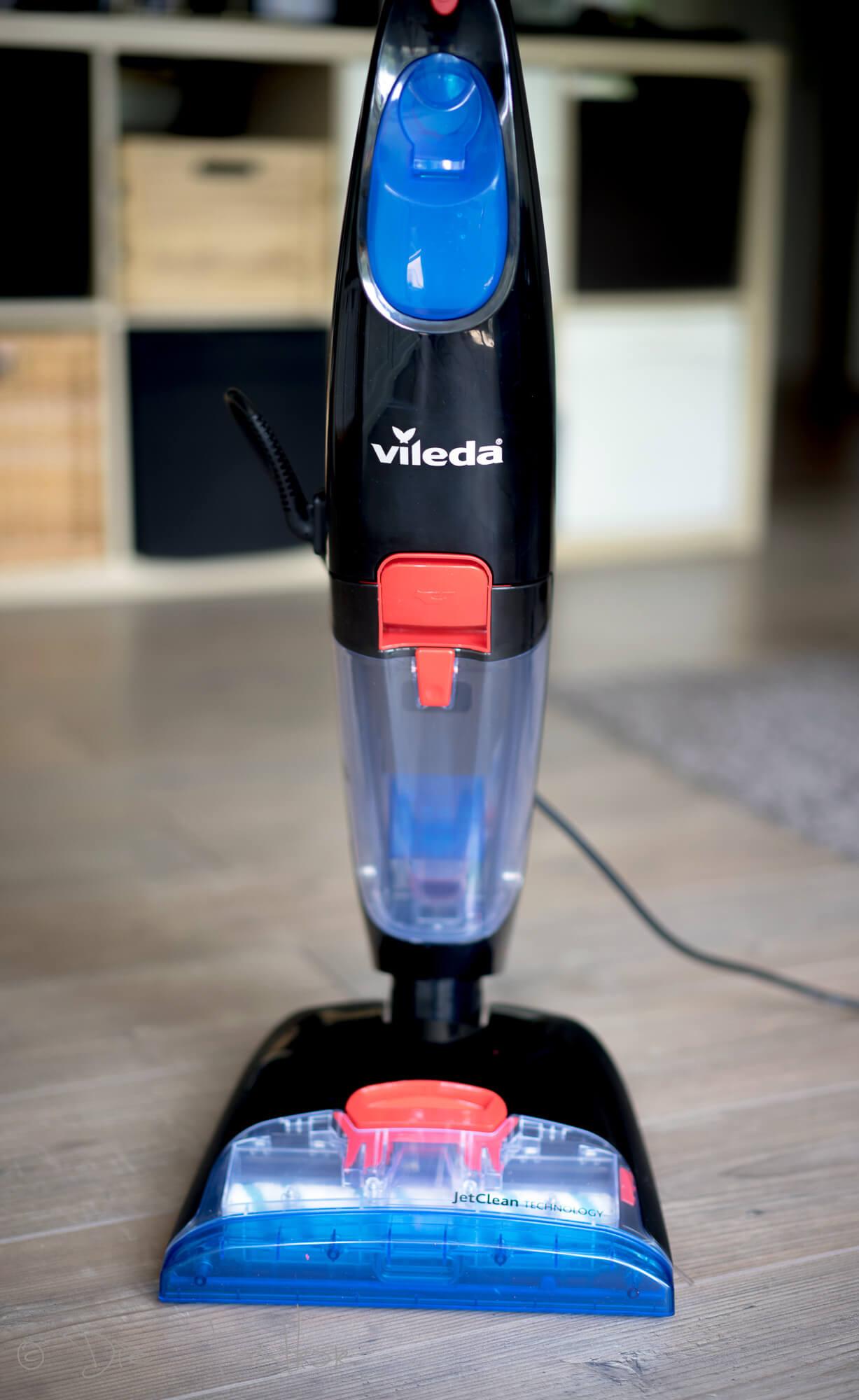 3in1 Reinigung: Saugen, Wischen und Trocknen - Vileda JetClean im Test