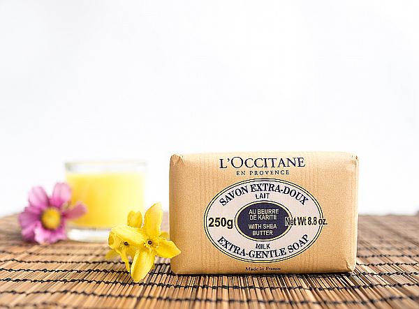 pflegende kosmetik mit karit butter von l occitane im. Black Bedroom Furniture Sets. Home Design Ideas