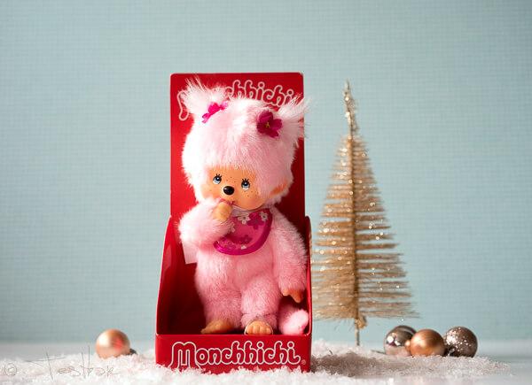 Monchhichi Pink Lady