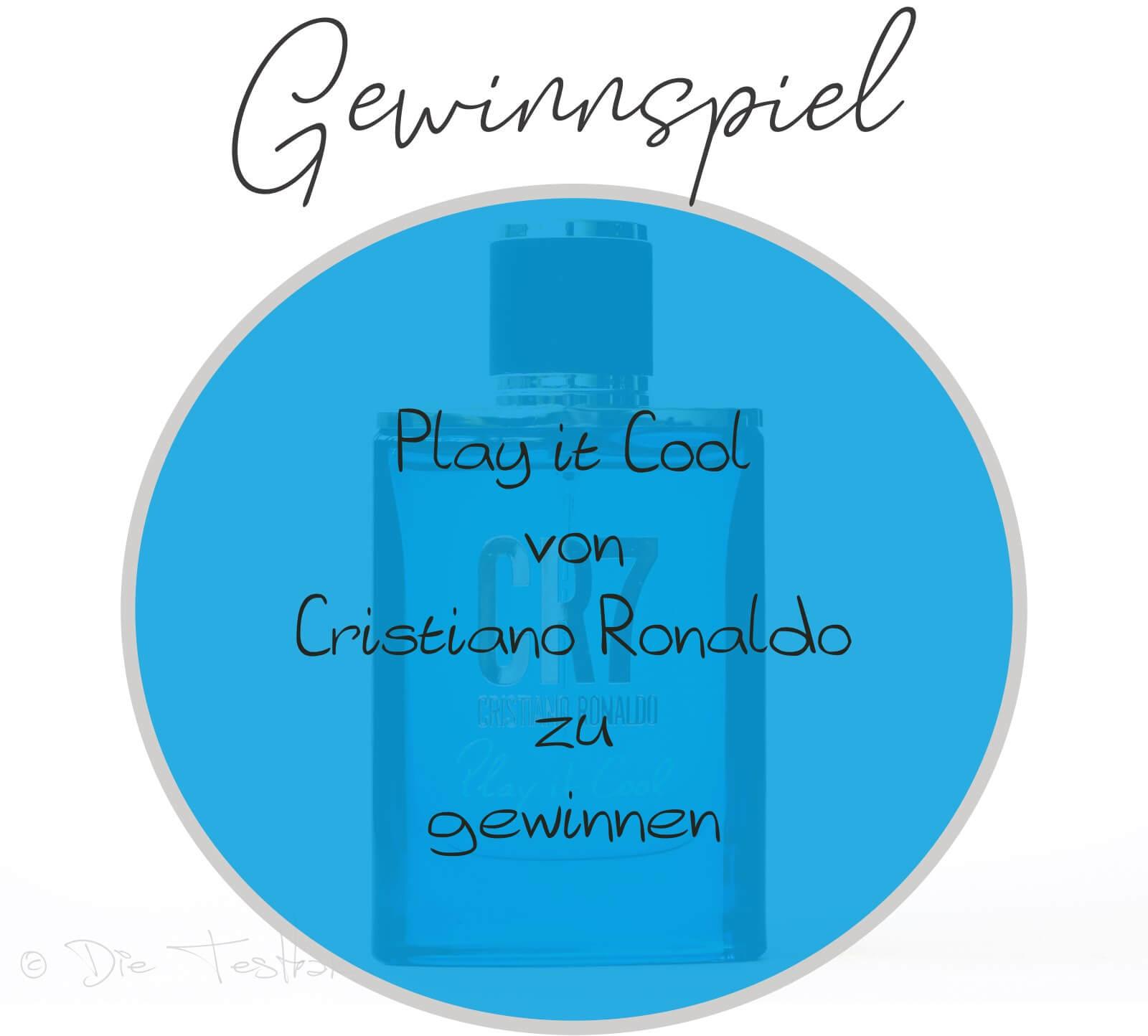 Gewinnspiel Cristiano Ronaldo Play it Cool Eau de