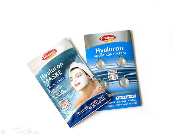 Schaebens - Hyaluron Maske und Hyaluron Boost Konzentrat
