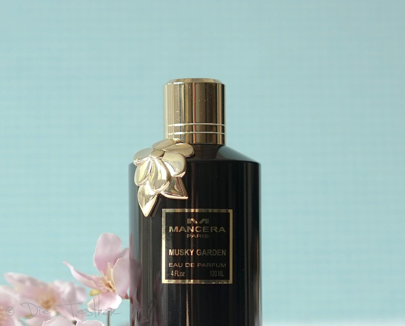 Eau de Parfum Spray - Musky Garden von Mancera - Der romantisch, sinnliche Damenduft