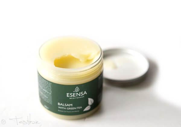 Körperpflege Body Balsam Green Tea - Intensiv regenerierender Gesichts- und Körperbalsam von Esensa Mediterana