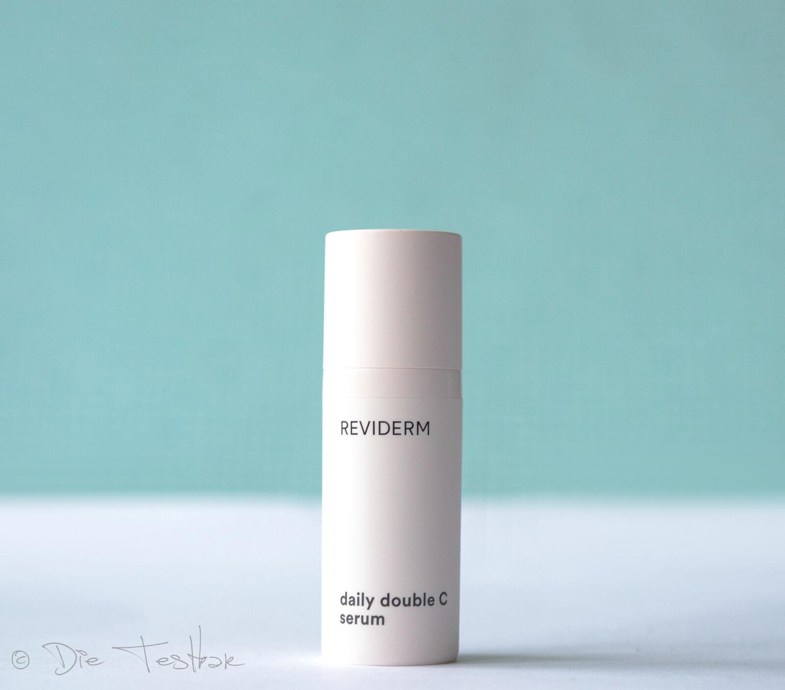 daily double C serum - Straffendes Vitamin C Serum für ein ebenmäßiges Hautbild von Reviderm