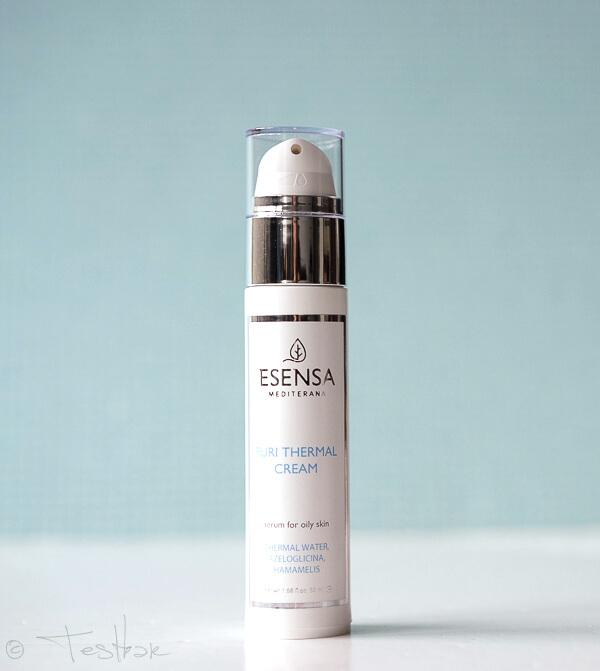 Puri Thermal Creme für Unreine Mischhaut - Hautbilderneuernde und entzündungshemmende Creme von Esensa Mediterana