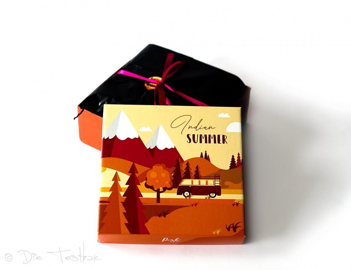 DIE PINK BOX im September 2021 – Pink Box Indian Summer 2021