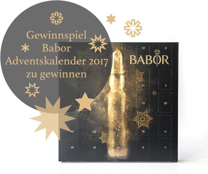 Gewinnspiel – Babor Adventskalender 2017 zu gewinnen