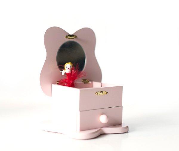 Schmuckkästchen mit Spieluhr