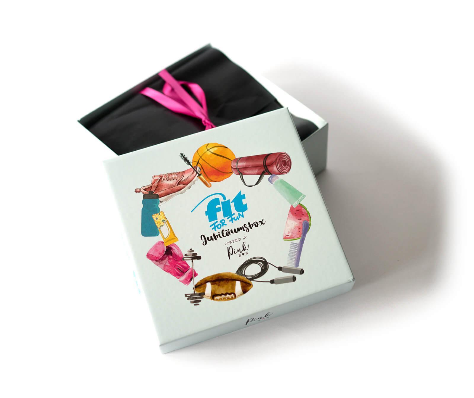 DIE PINK BOX im Juli 2019 – Pink Box Fit For Fun x Pink Box 2019