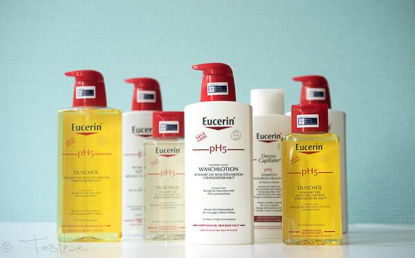 Eucerin pH5 Pflegelinie für empfindliche, trockene Haut