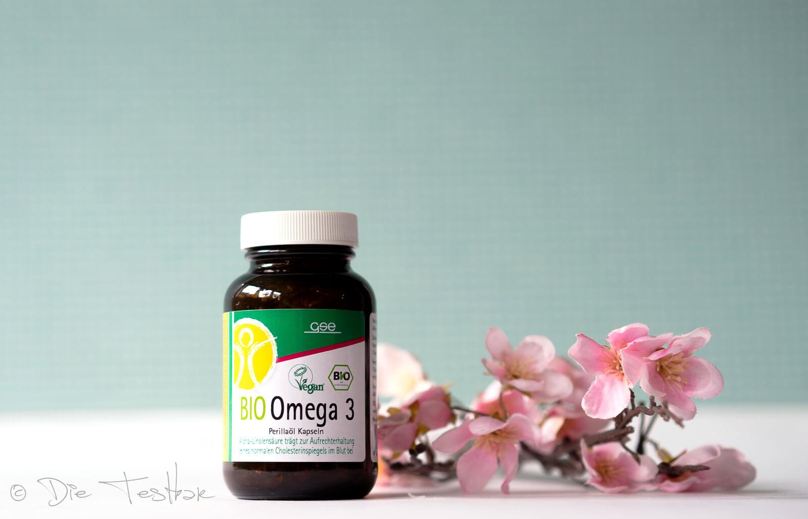 Omega 3 - Perillaöl Kapseln (Bio)