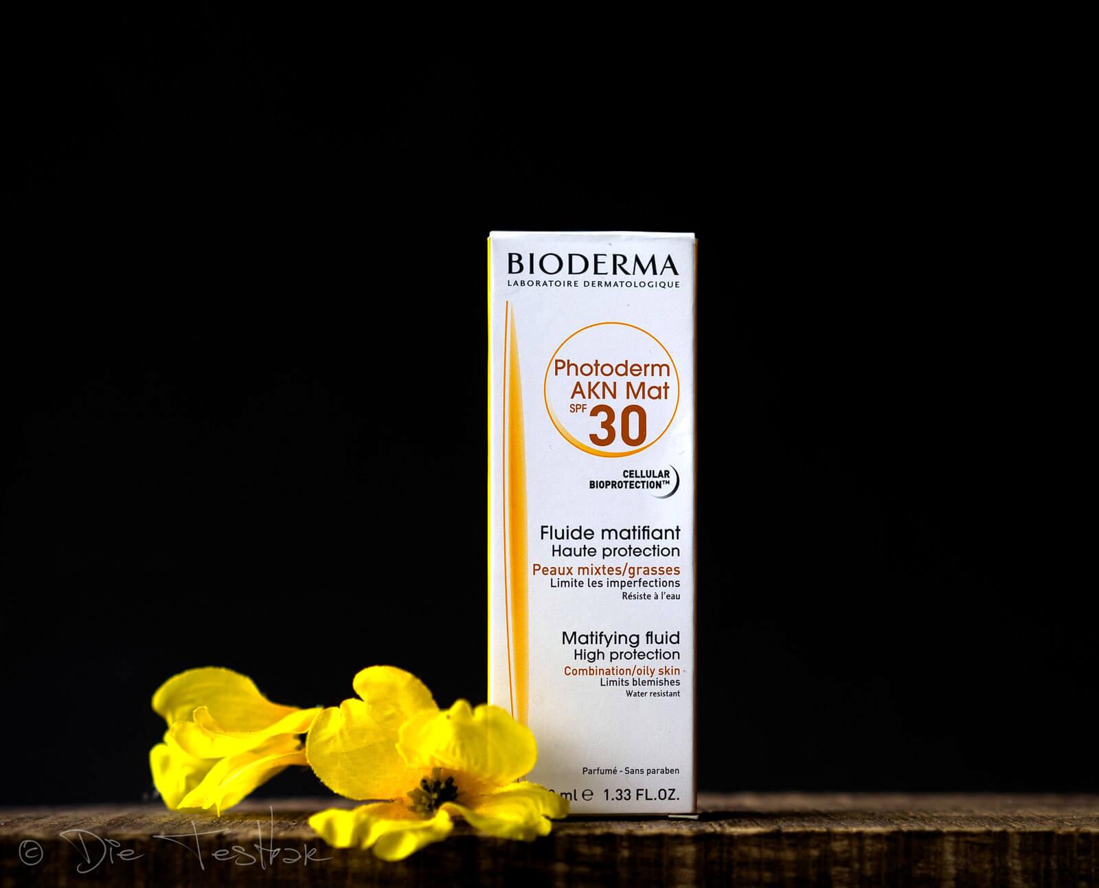 Photoderm AKN Mat - Mattierendes Sonnenfluid bei Unreinheiten SPF 30 von Bioderma