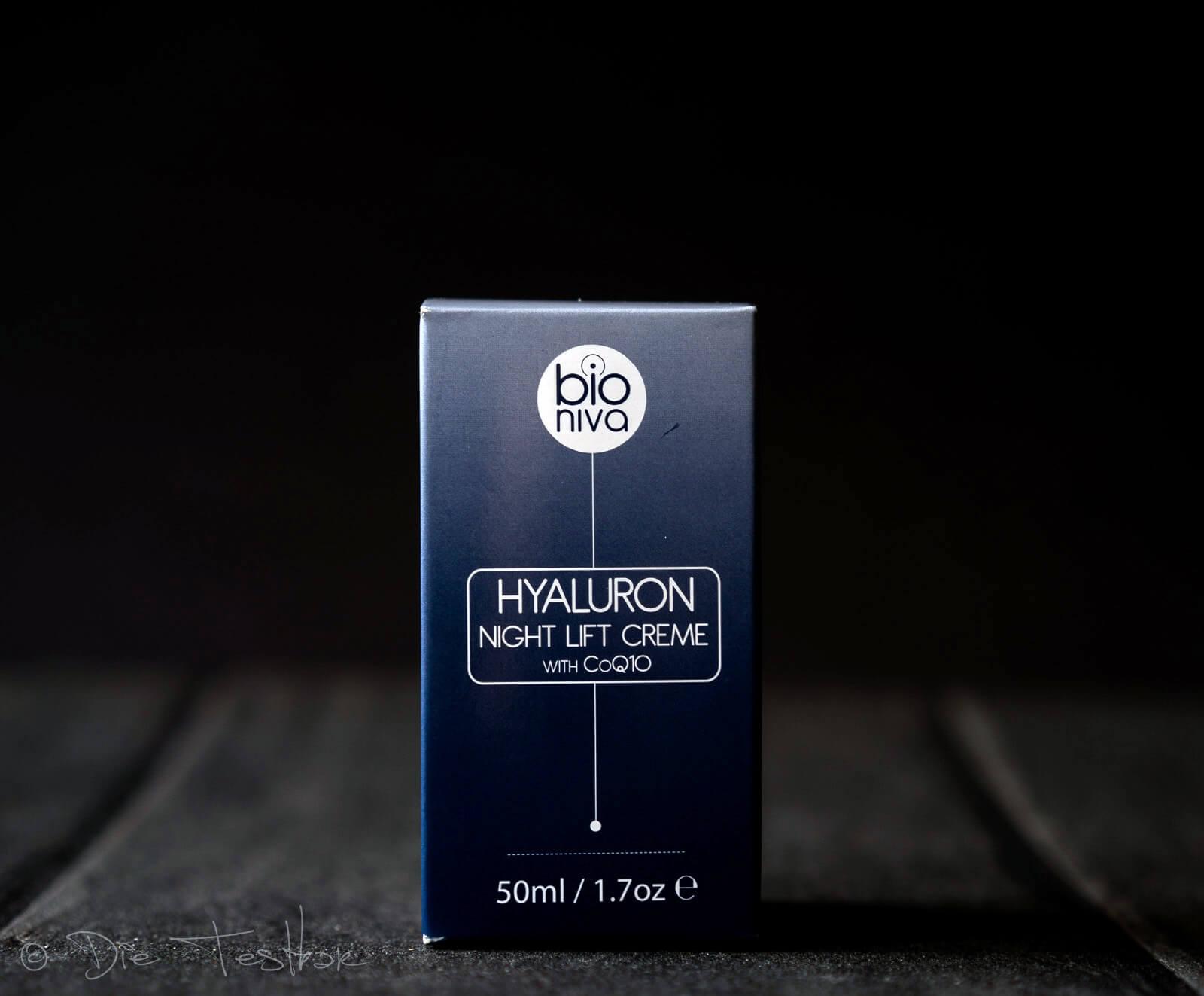 Hyaluron Night Lift Creme mit CoQ10 von Bioniva