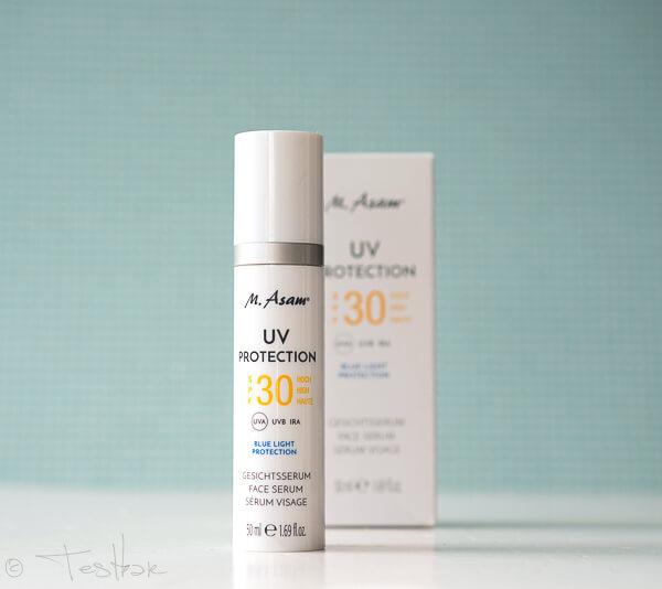 UV PROTECTION Gesichtsserum SPF 30 von M. Asam - Intensiver Schutz vor Blue Light UV-, IRA- und Blue Light Strahlen