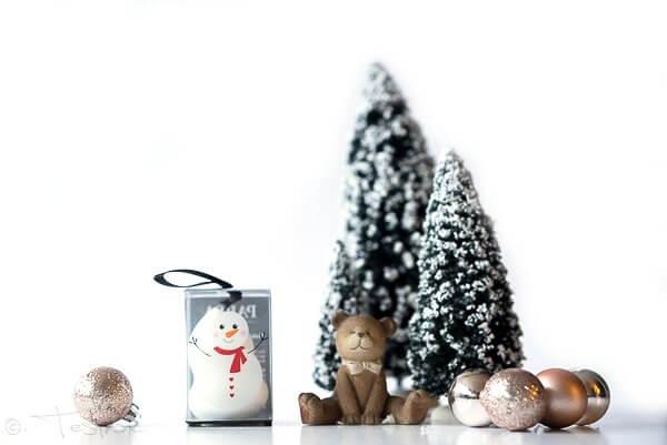 Parsa Make-up Ei im weihnachtlichen Look