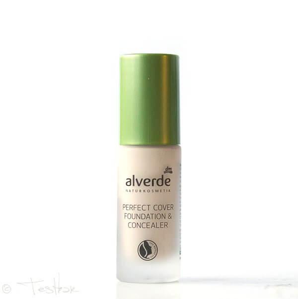 Make-up Perfect Cover Foundation von Alverde