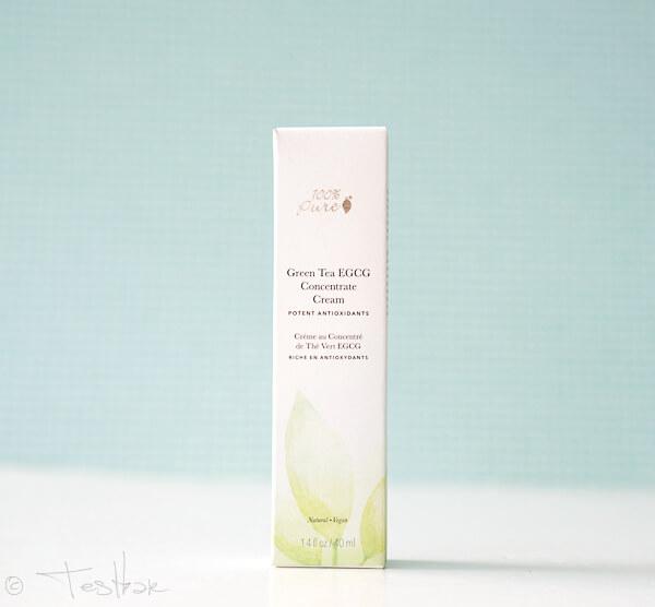Naturkosmetik - Green Tea EGCG Concentrate Cream - Feuchtigkeitspflege 100% Pure