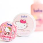 Geschenkidee – bebe Zartcreme Limited Edition – Hello Kitty