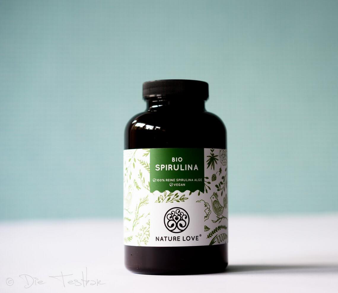 Bio-Spirulina-Presslinge aus 100% reinen Bio-Spirulina-Algen von Nature Love