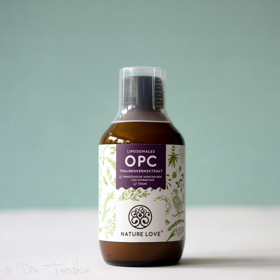 Liposomales OPC Traubenkernextrakt von Nature Love