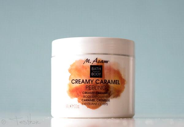 CREAMY CARAMEL Peeling & Körpercreme vo M. Asam