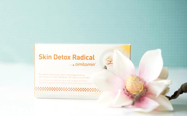 Skin Detox Radical von amitamin - Pflege und Schutz für die Haut von innen