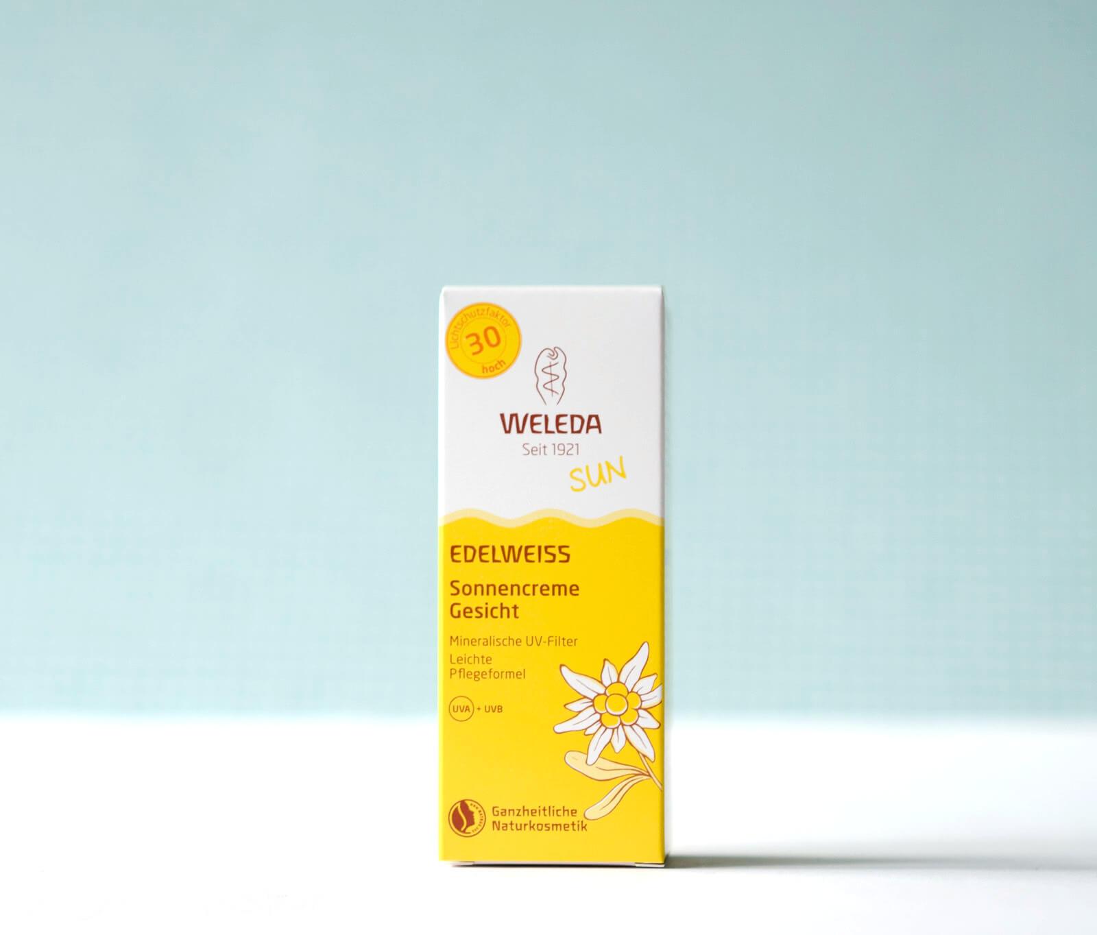 Weleda - Edelweiss Sonnencreme Gesicht LSF 30