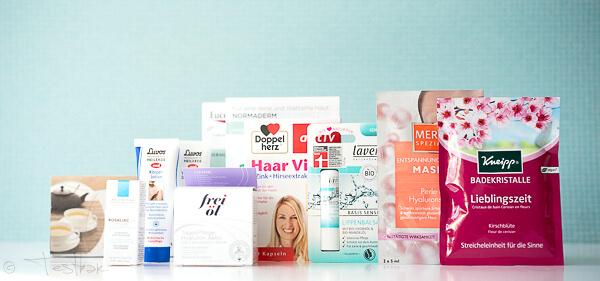Beauty Box im März 2018 von medikamente-per-klick.de