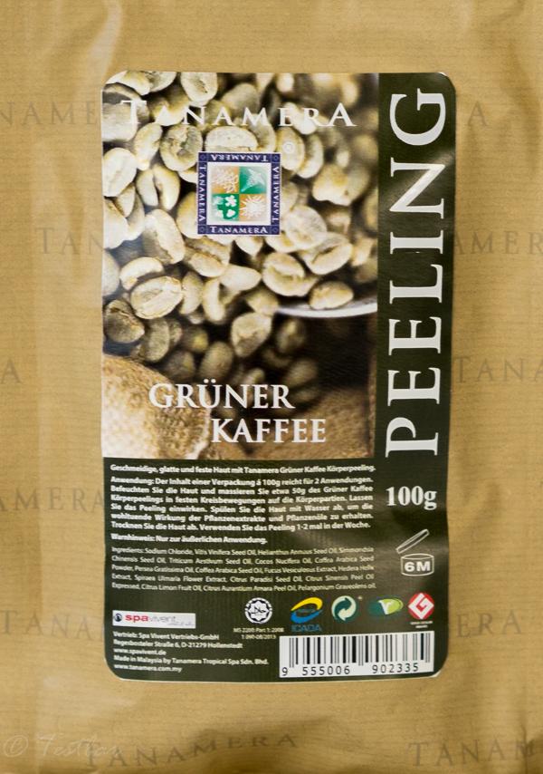 Tanamera Grüner Kaffee Körperpeeling