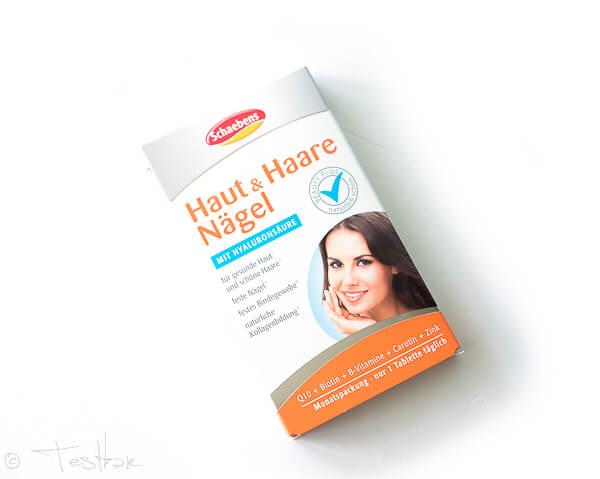 Haut Haare Und Nägel Tabletten Von Schaebens Testbar Schönheit