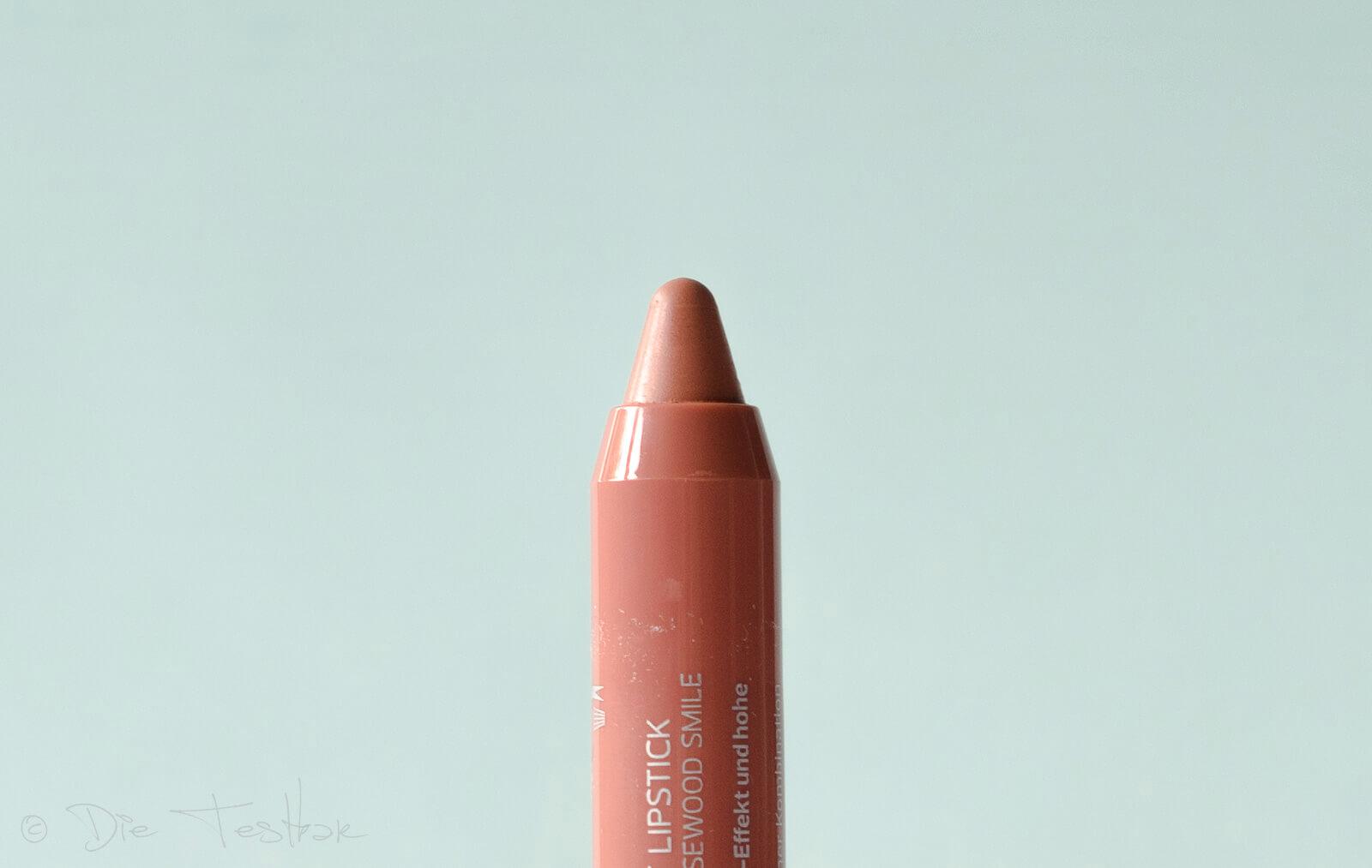 alverde Naturkosmetik - Lippenstift Matt Lipstick Rosewood Smile