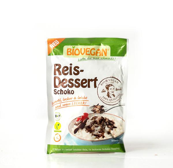 Biovegan Reis-DessertSchoko, BIO, Süße Pause