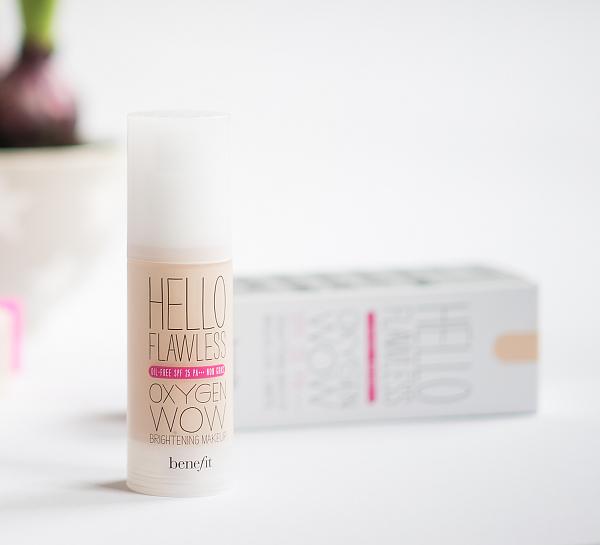 Make-up und Concealer von benefit - hello flawless oxygen wow!