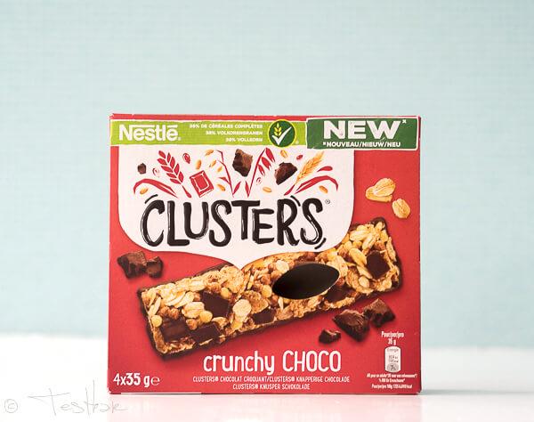 NESTLÉ CLUSTERS -CLUSTERS Knusper Schokolade Riegel