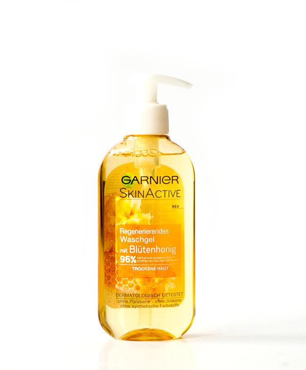 Garnier Skin Active - Regenerierendes Waschgel mit Blütenhonig